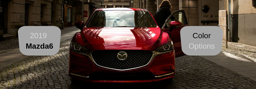Check Out the 6 Paint Color Options of the 2019 Mazda6