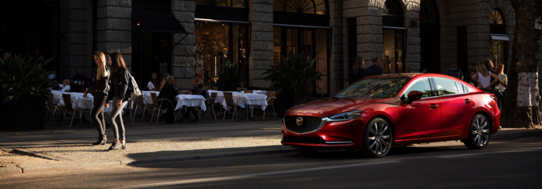 Highlights in the 2019 Mazda6