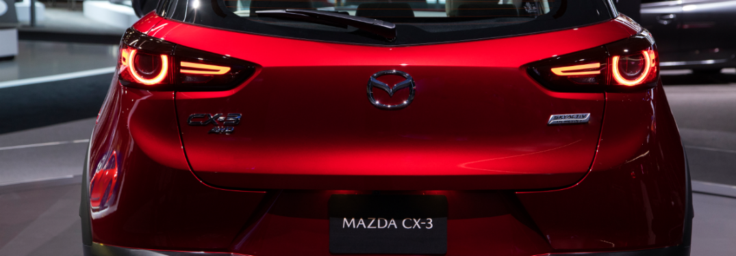 2019 Mazda CX-3 rear exterior profile