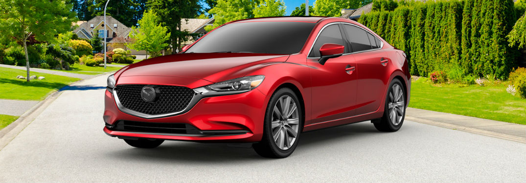 What comes with the Mazda6 Signature trim?