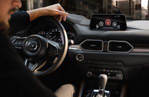 2020 Mazda CX-5 front interior with driver