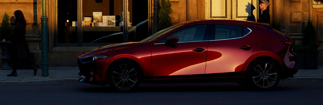 Highlights in the 2020 Mazda3 Hatchback