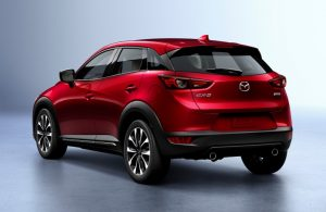 2020 Mazda CX-3 rear exterior profile