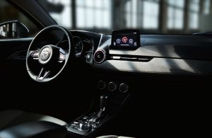 front interior of the 2020 CX-3