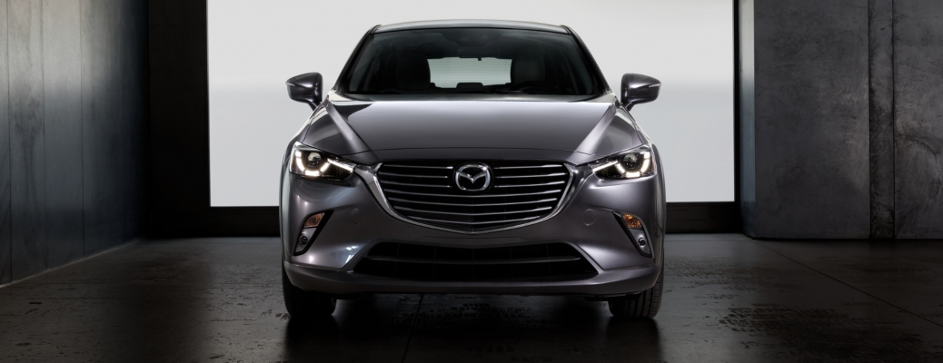 2020 Mazda CX-3 silver front view