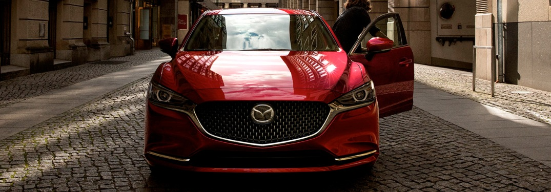 Front end of the 2020 Mazda6