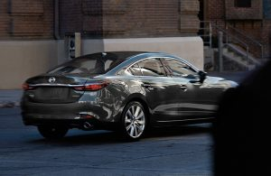 Back end of the 2020 Mazda6