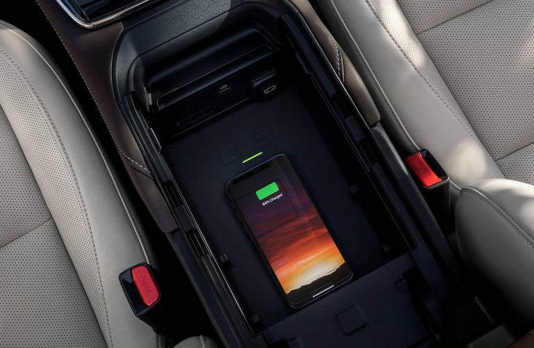 2021 Mazda CX-30 wireless phone charging