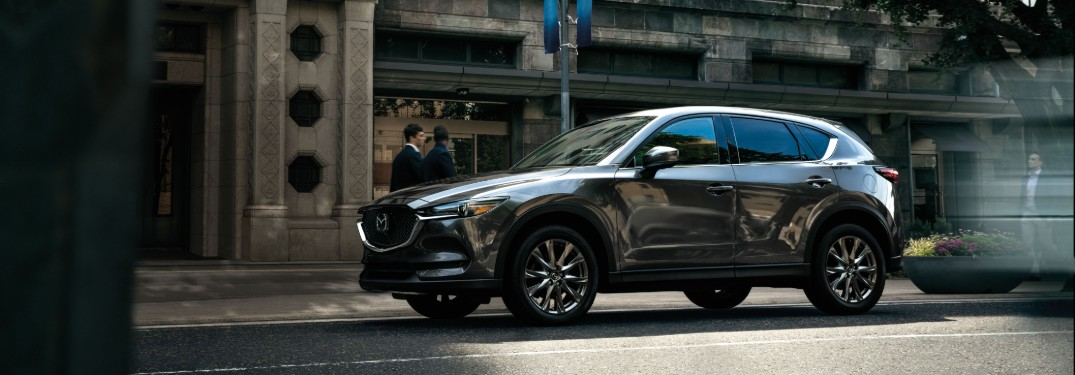 side view of a 2020 Mazda CX-5