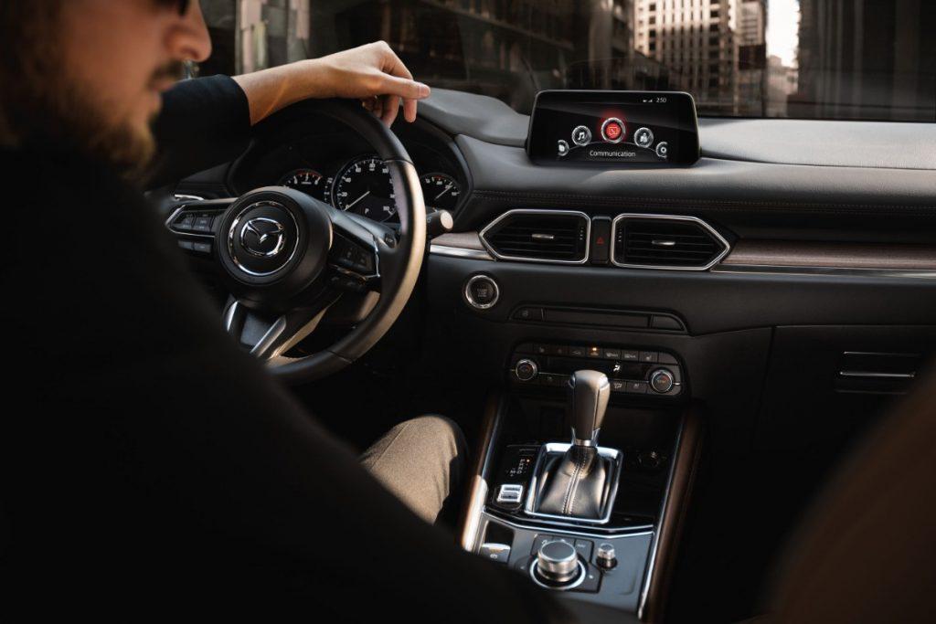front interior of a 2020 Mazda CX-5