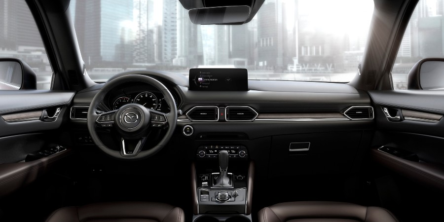 front interior of a 2021 Mazda CX-5