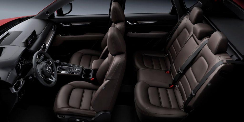 full interior of a 2021 Mazda CX-5