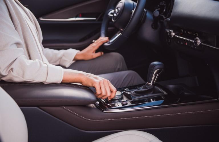 2021 Mazda CX-30 center console