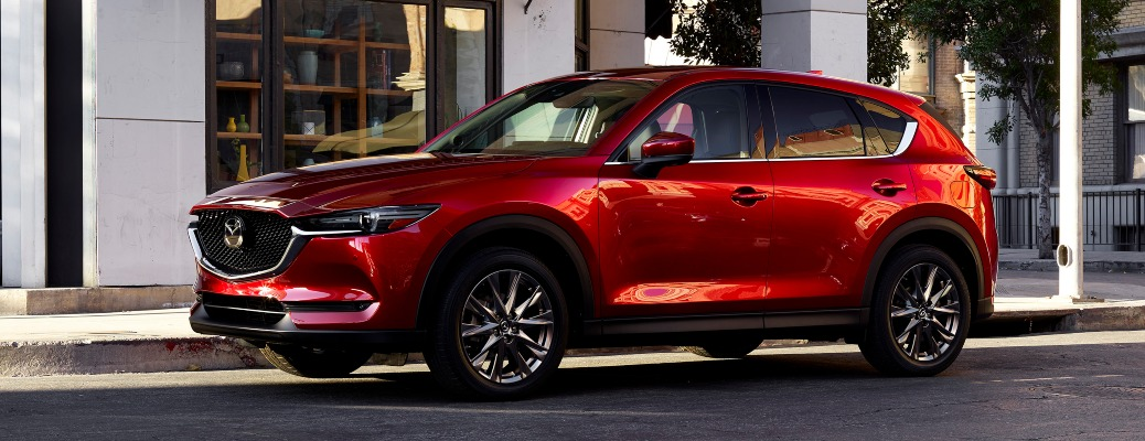 What's new for the 2021 Mazda CX-5?