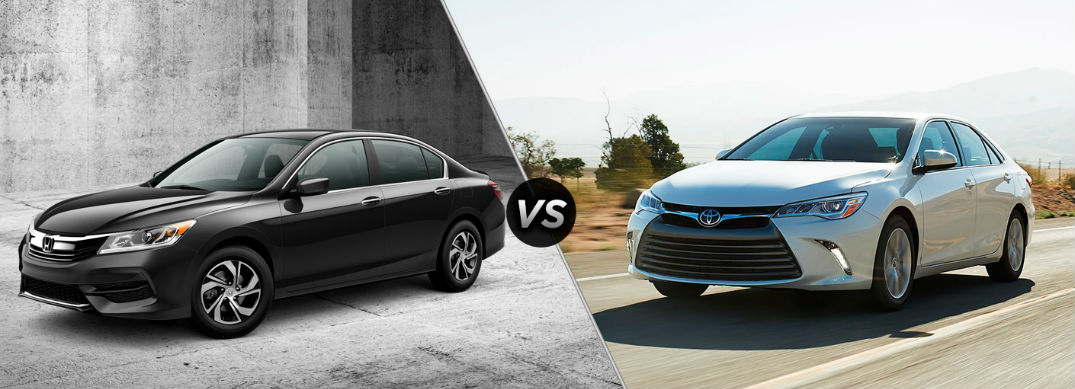 Accord Vs Camry >> 2016 Honda Accord Vs 2016 Toyota Camry