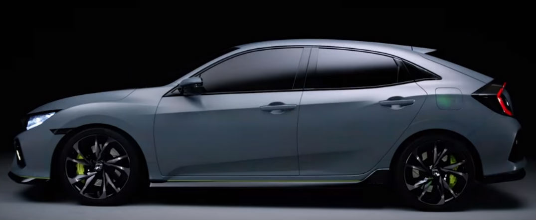 2016 Honda Civic Release Date >> 2017 Honda Civic Hatchback And Rally Car Revealed