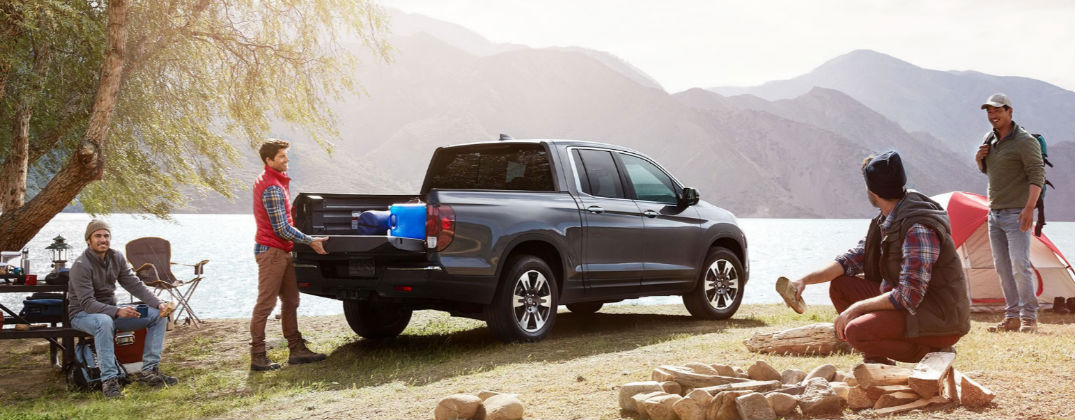 2017 Honda Ridgeline Design and Utility Features