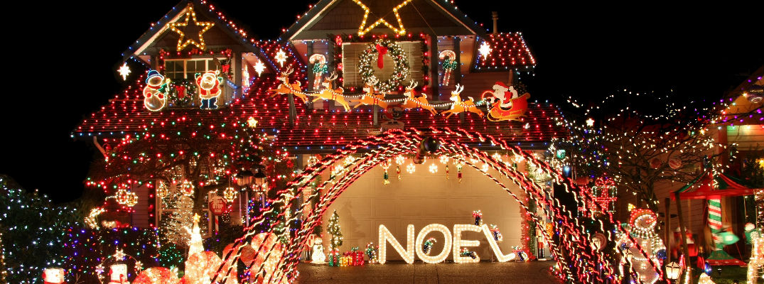 top 4 holiday light displays in dayton oh