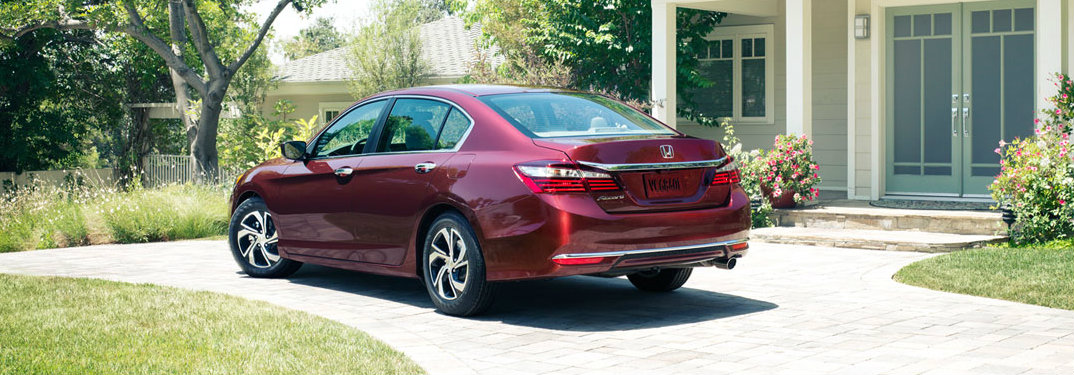 2017 Honda Accord oil change schedule