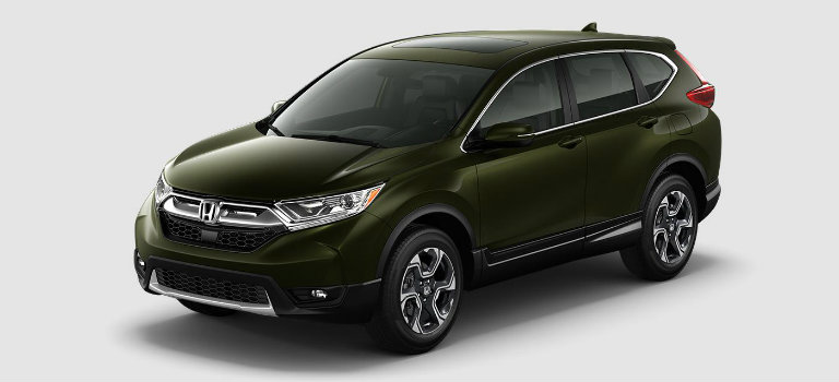 2017 Honda CR-V in Dark Olive Metallic
