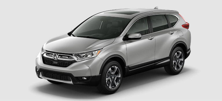 2017 Honda CR-V in Lunar Silver Metallic