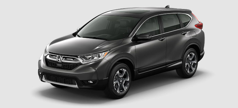 2017 Honda CR-V in Modern Steel Metallic