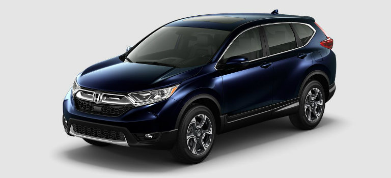 2017 Honda CR-V in Obsidian Blue Pearl
