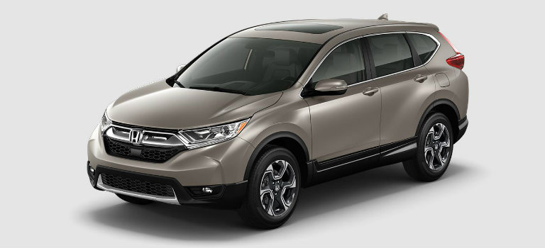 2017 Honda CR-V in Sandstorm Metallic