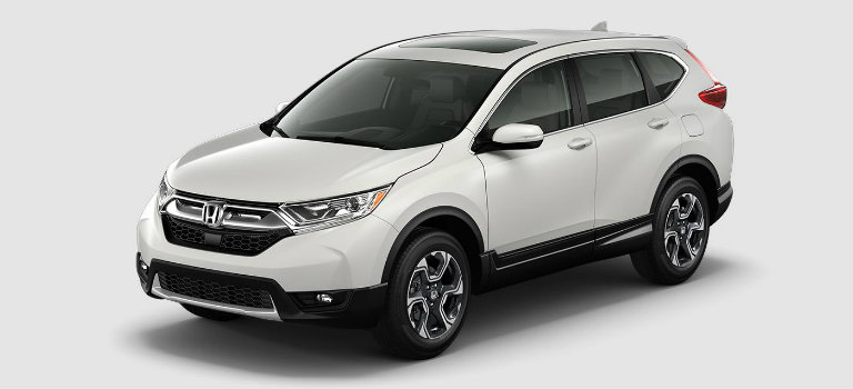 2017 Honda CR-V in White Diamond Pearl