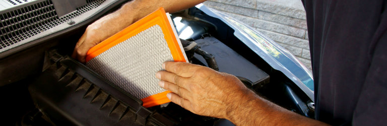 Air Filter change in Dayton OH