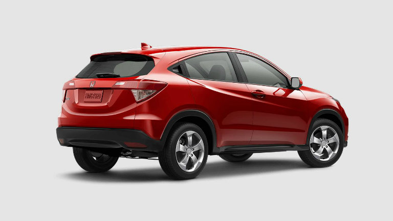 2017 HR-V LX 2WD CVT Automatic in Milano Red