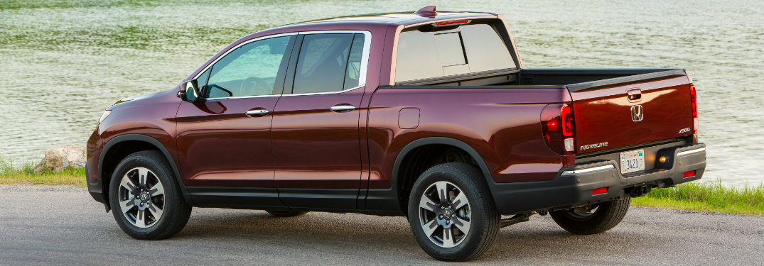 What Colors Does The 2017 Honda Ridgeline Come In