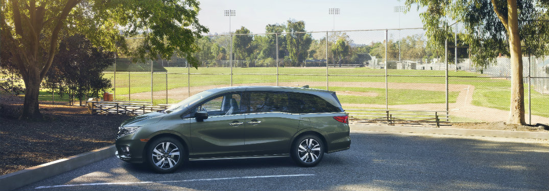 First look at the 2018 Honda Odyssey