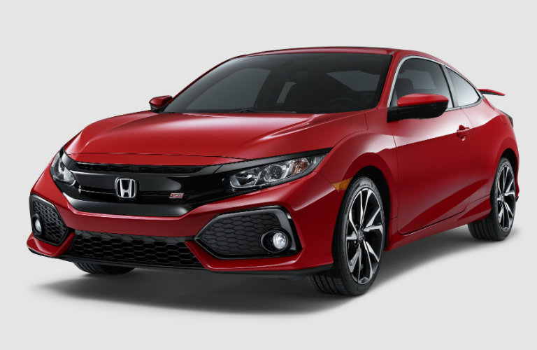 2017 Honda Civic Si Coupe engine performance