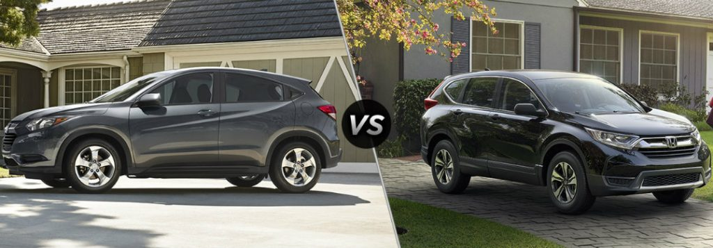 Honda Hrv Vs Crv >> 2017 Honda HR-V vs 2017 Honda CR-V
