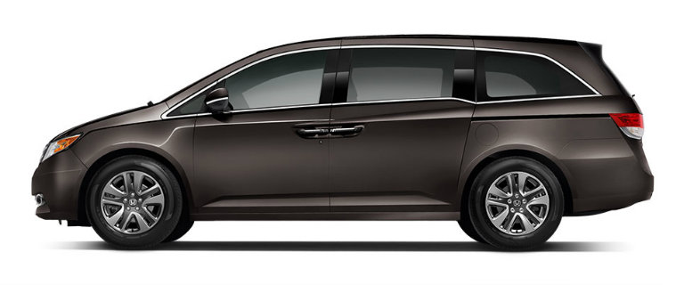 2017 Honda Odyssey Exterior Color Options » 2017 Honda Odyssey In Smoky  Topaz Metallic_o