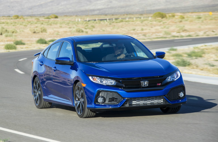 2017 Honda Civic Si Sedan color options