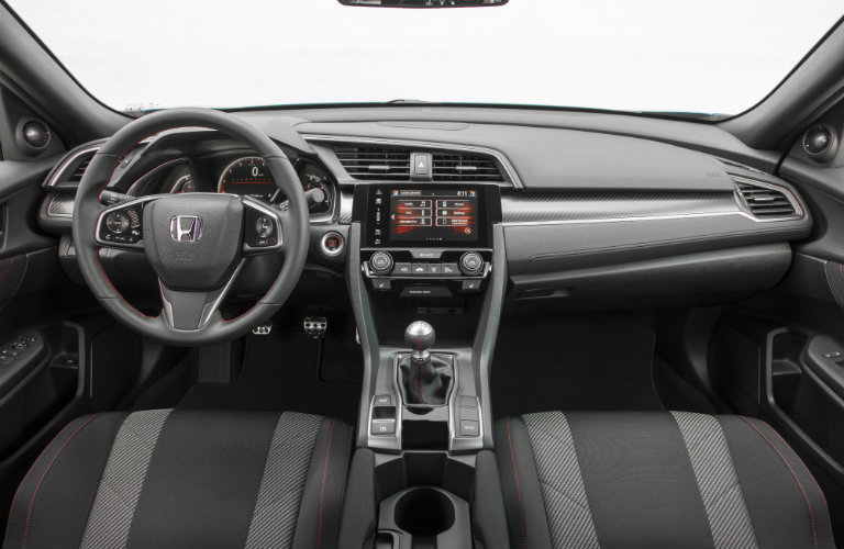 2017 Honda Civic Si Sedan interior features