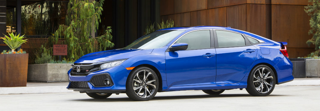 2017 honda civic si sedan features and specs for Honda civic si 2017 sedan
