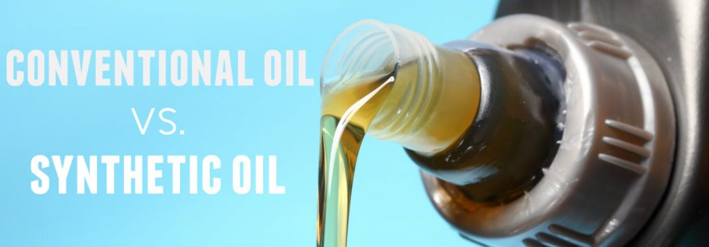 What is the difference between regular oil and synthetic oil?