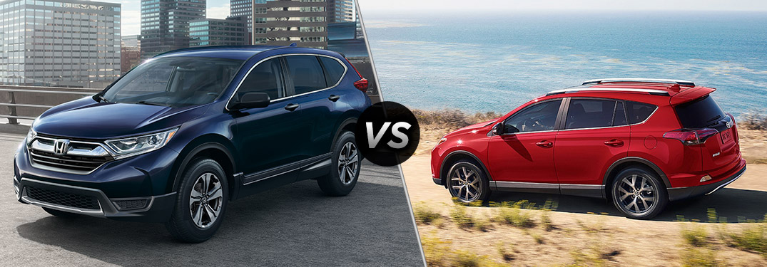 2017 honda cr v trim level comparison for Honda rav 4