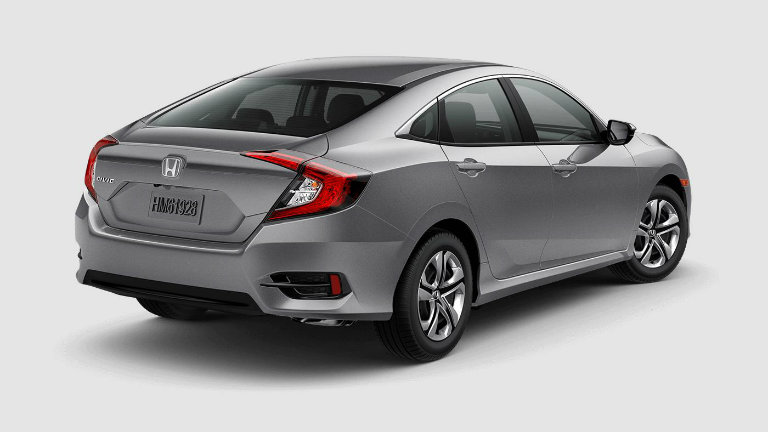 What Colors Does The 2018 Honda Civic Come In