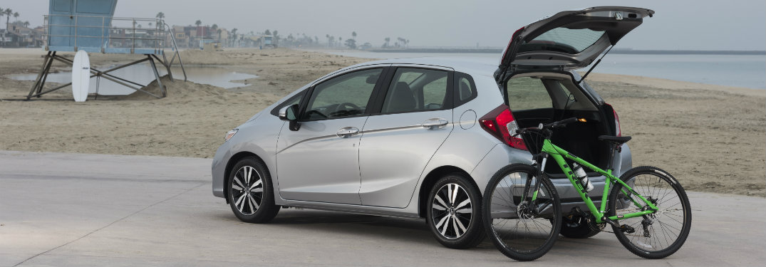 2018-Honda-Fit-with-trunk-open-and-bike-resting-against-it