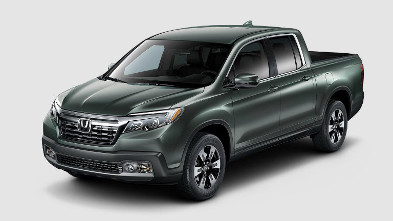 What colors does the 2018 Honda Ridgeline come in?