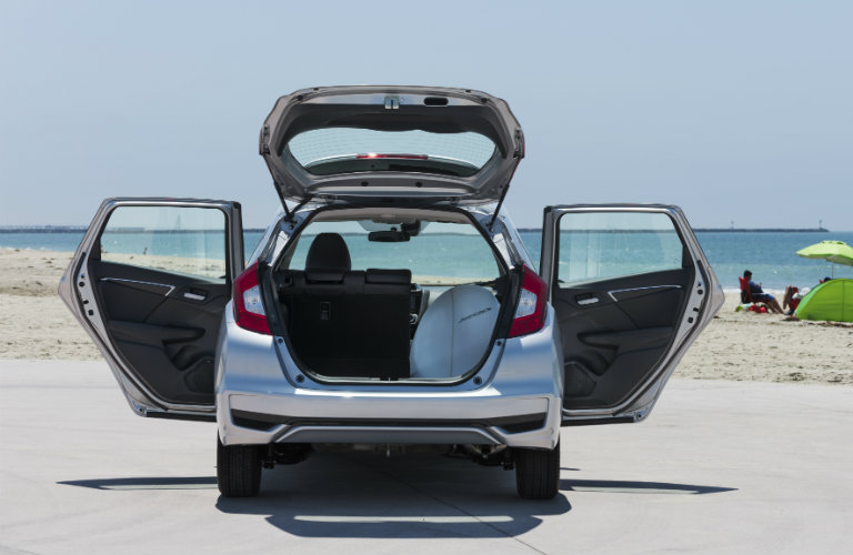 Rearview-of-2018-Honda-Fit-with-trunk-and-rear-doors-open