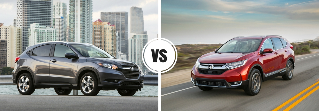 Honda Hrv Vs Crv >> 2018 Honda HR-V vs 2018 CR-V