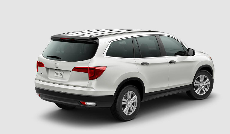 Honda Pilot In White Diamond Pearl O