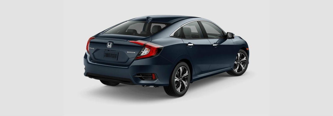2018 Honda Civic Touring Exterior Back Fascia and Passenger Side
