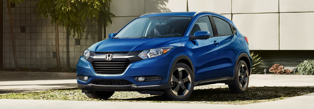 2018 Honda HR-V exterior front fascia and drivers side