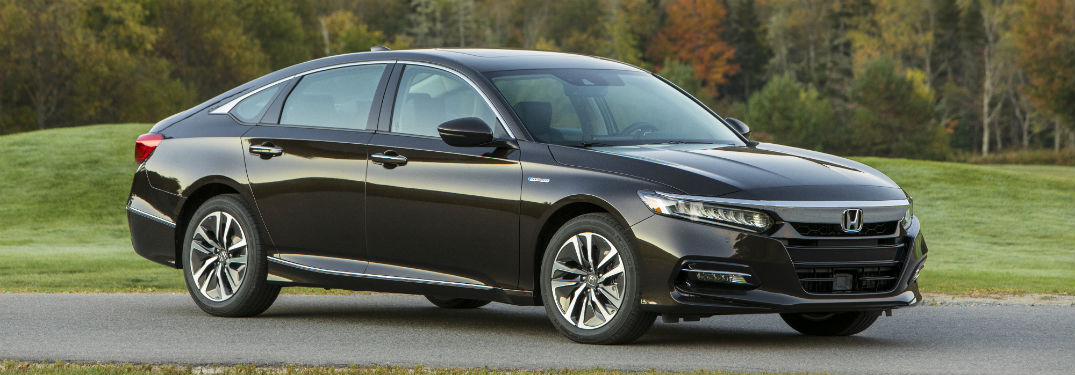 2018 Honda Accord Hybrid exterior front fascia and passenger side